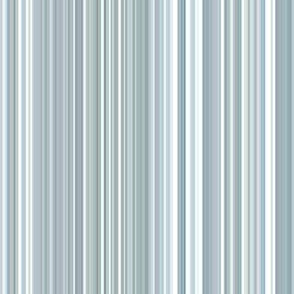 blue-grey narrow stripes - vertical