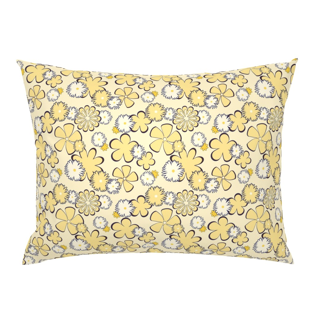 Campine Pillow Sham featuring Sweet Dreams Are Mod Of This by sheila_marie_delgado