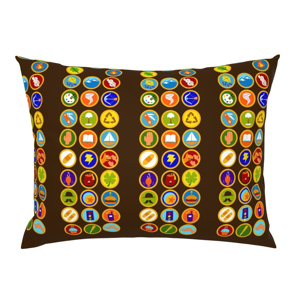 Campine Pillow Sham featuring Explorer Sash Adult Size by just-joshin