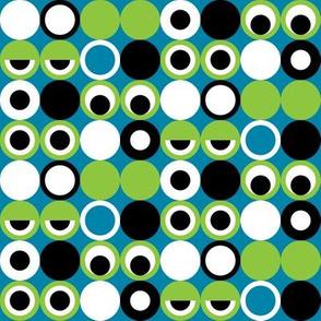 Geo Frog Eyes