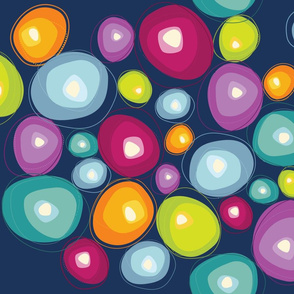 Blooming Gems {Indigo}
