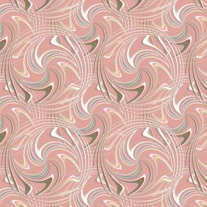 Peach Circles and Spirals