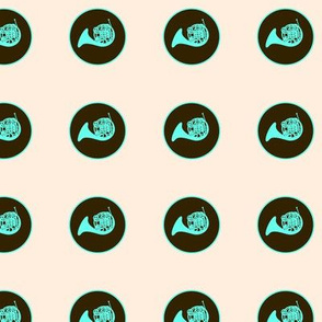 French Horn Circles - Chocolate Mint
