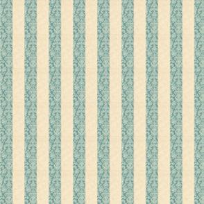 Damask Stripe Teal