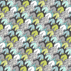 Wild Horses Tessellation