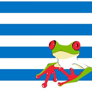 Frogs and Stripes