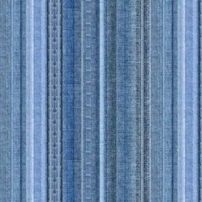Faded Denim stripe