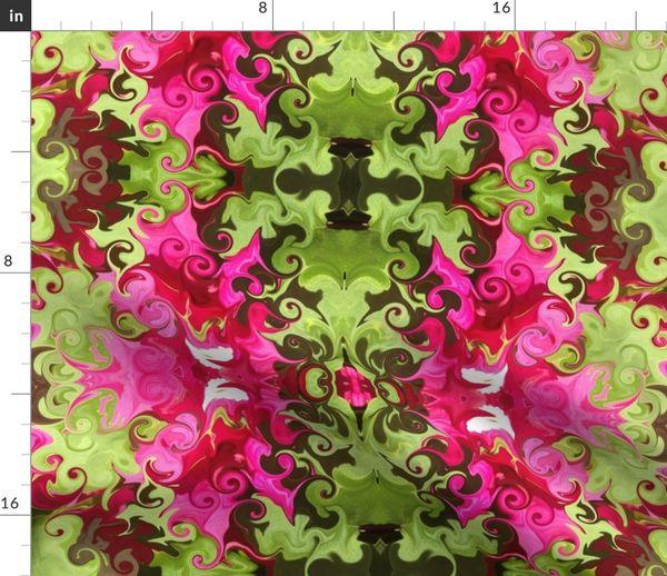Petunia Garden Spoonflower