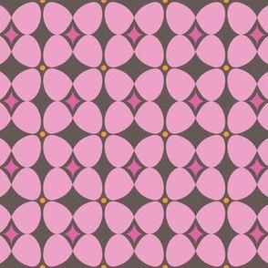 Mod Flora {Brown/Pink}