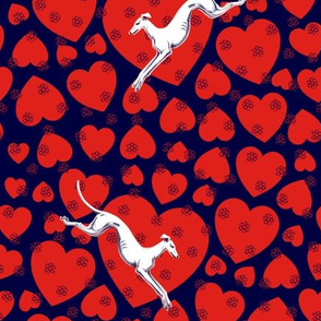 Hearts and Greyhounds © 2014 by Jane Walker
