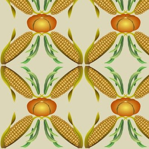 Maize, Beans and Squash - The Three Sisters - Beige