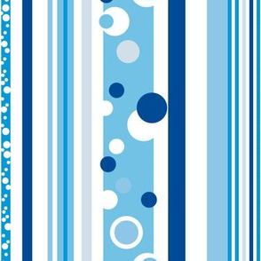 Blue Bike Dots