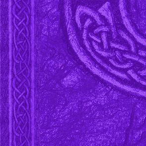 Ancient Celtic Ring Purple