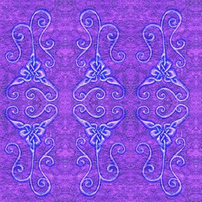 Loopy Purple Knots