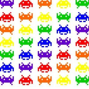 Retro Space Invaders - 2