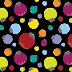 Holly Jolly Balls {Black}