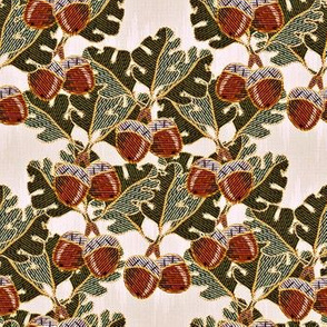 embroidered oak and acorns2