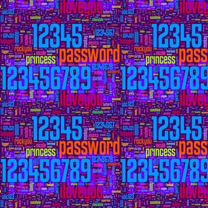 bad passwords, clean edition - XXsmall