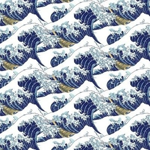 "the tiny waves of Hokusai (6"")"