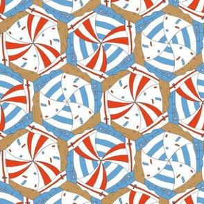 sailing boats tessellation