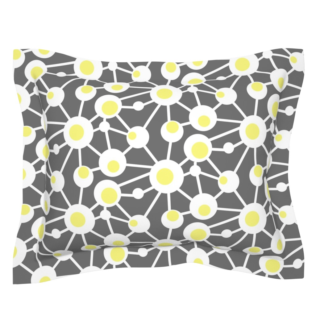 Sebright Pillow Sham featuring Hard Boiled Eggs by creativeinchi