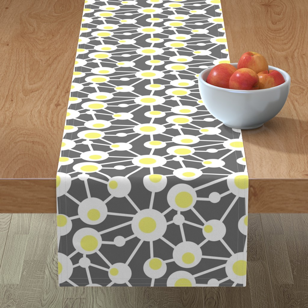 Minorca Table Runner featuring Hard Boiled Eggs by creativeinchi
