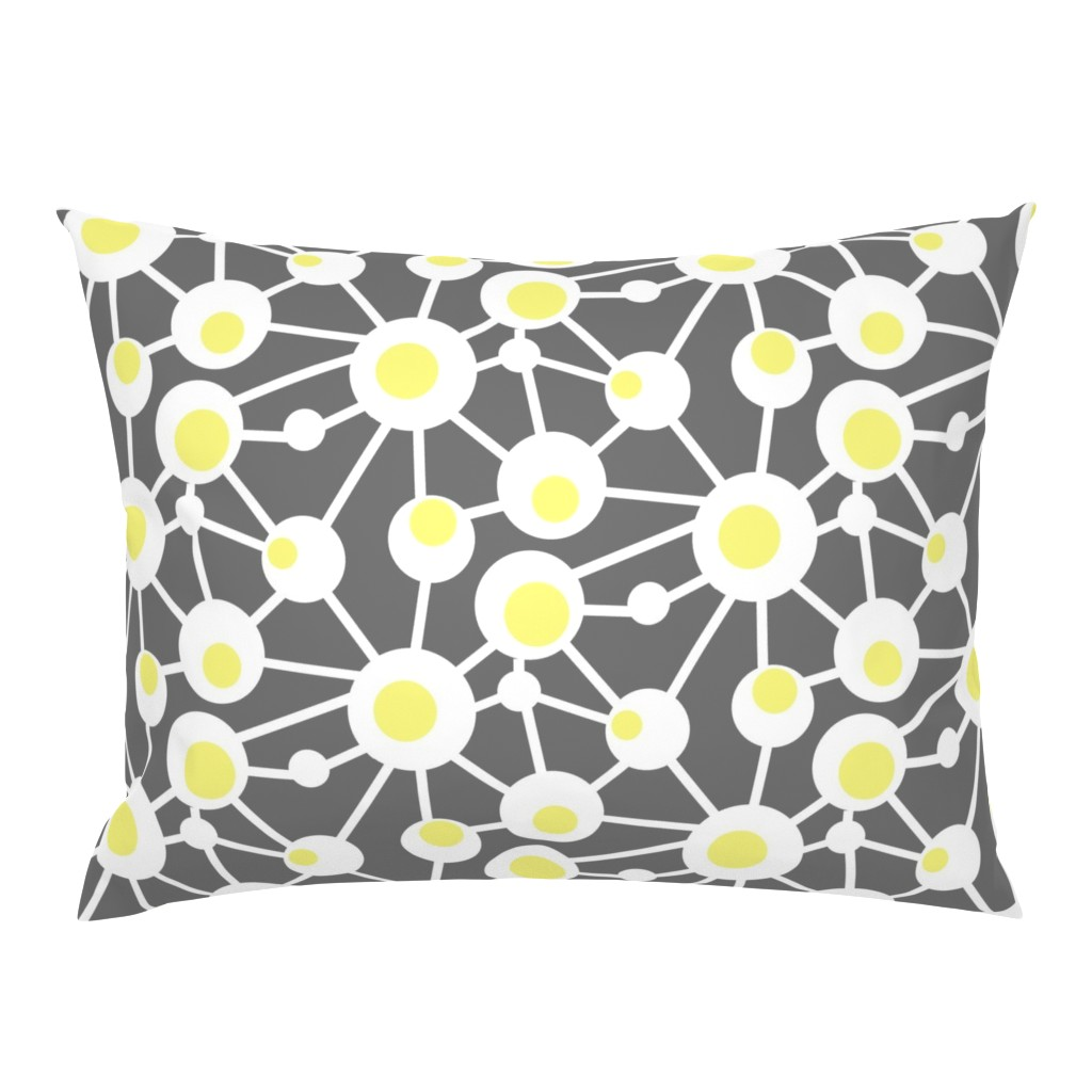 Campine Pillow Sham featuring Hard Boiled Eggs by creativeinchi