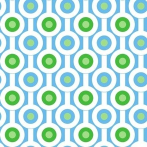 Geometric Green Circles