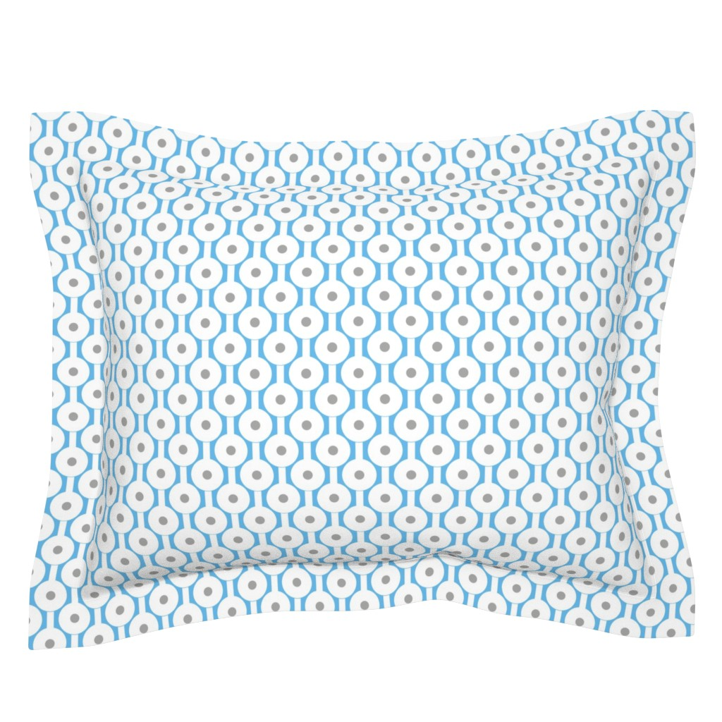 Sebright Pillow Sham featuring Frog Spawn by creativeinchi