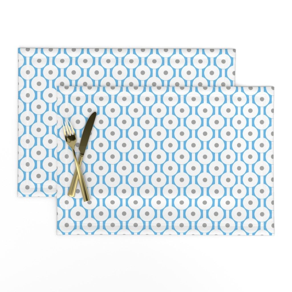 Lamona Cloth Placemats featuring Frog Spawn by creativeinchi
