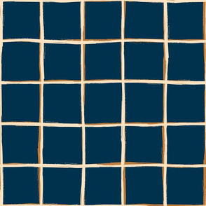 Brushed geometric etnic pattern