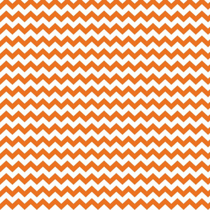 orange chevron i think i heart u