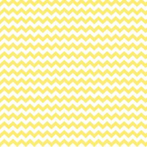 lemon yellow chevron i think i heart u