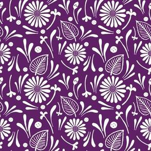 flora - purple