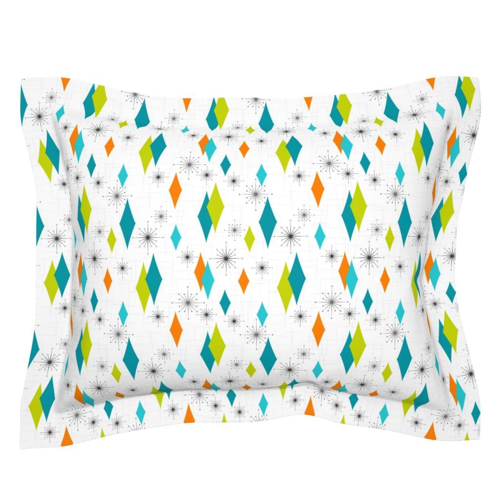 Sebright Pillow Sham featuring Burmond #G3 (large) by tonyanewton