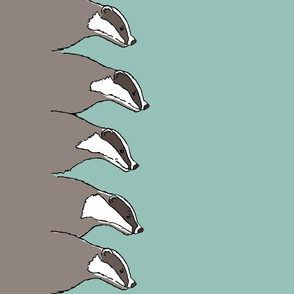 badger double border