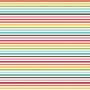 {everyday} rainbow stripes