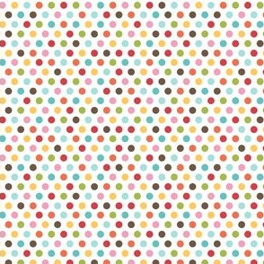 {everyday} rainbow dots