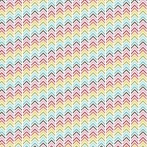 {everyday} rainbow herringbone