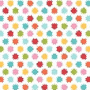 {everyday} big rainbow dots