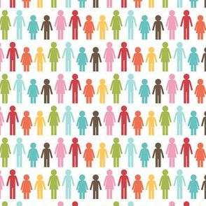 {everyday} rainbow people