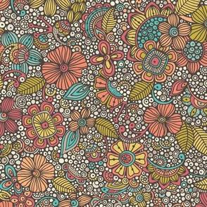 Garden of doodles