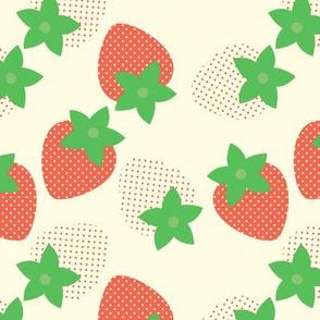 Cream Berry Fields