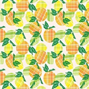 Citrus goes to plaid