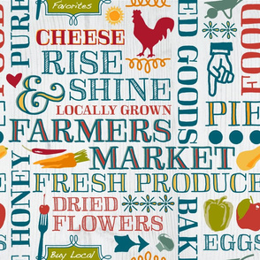 Farm Fresh Market Signage