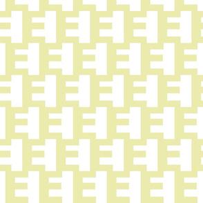 Danish modern E pattern
