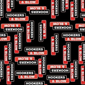 Hookers and Blow Black