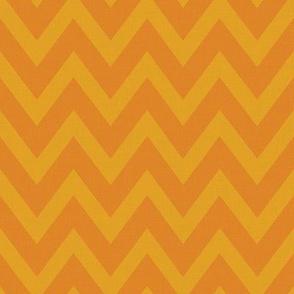 Chevronie Linen {Pumpkin Pie}