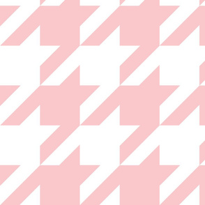 The Houndstooth Check ~ Dauphine and White ~ Medium