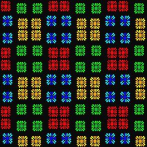 Square flower21